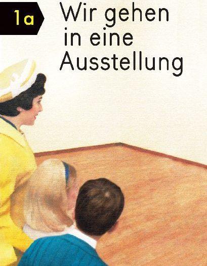 Buchkatalog Wir gehen in eine Ausstellung M.+E. Elia